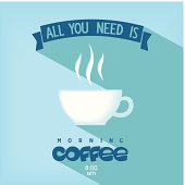 Quote card - All you need is coffee
