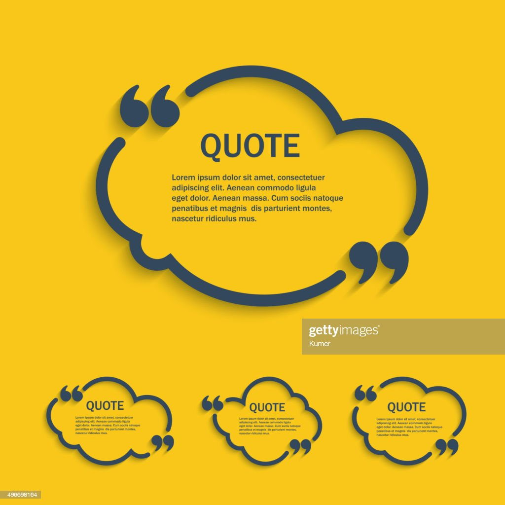 Quote line cloud set