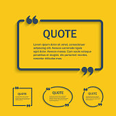 Quote line text box with commas set