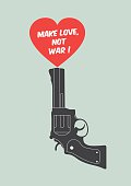 Quote poster : make love, not war