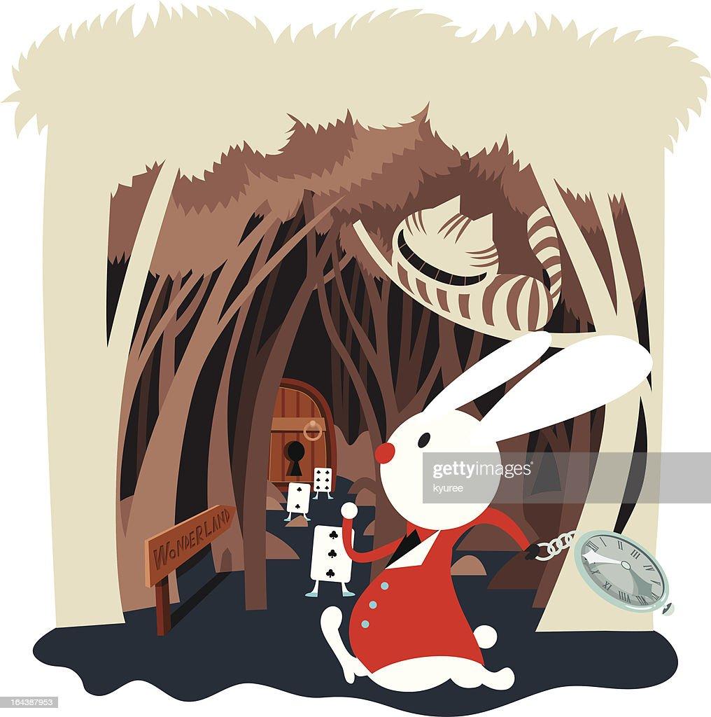 Rabbit Hall in wonderland