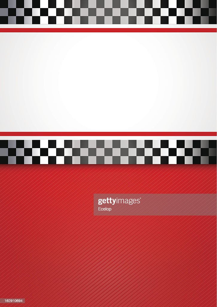 Race blank background