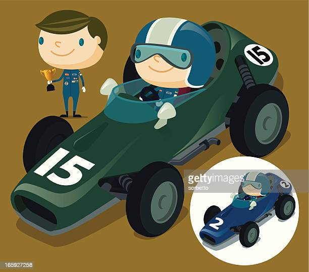 Race Car and Driver