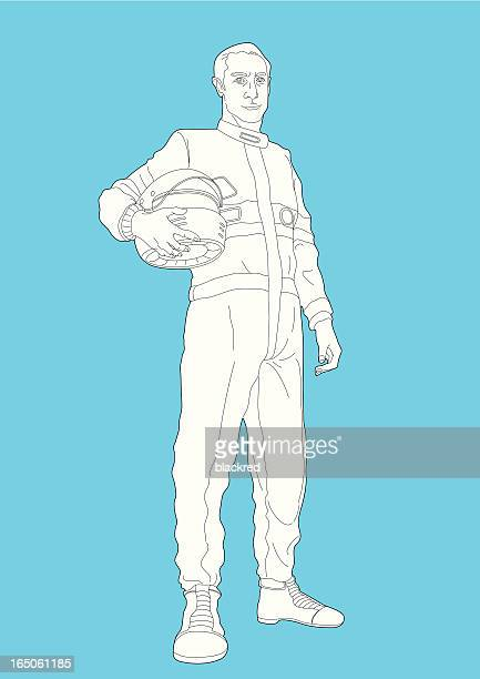 race car driver - motorcycle helmet isolated stock illustrations, clip art, cartoons, & icons
