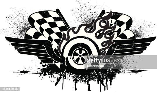 Standard Race Car Silhouette