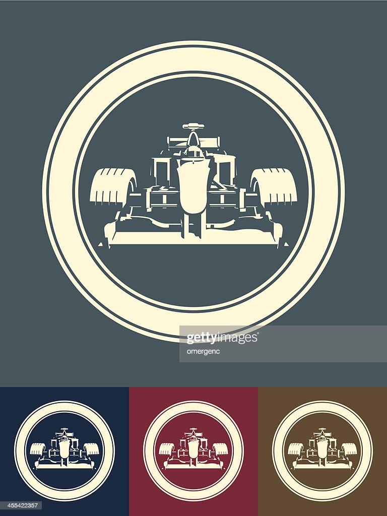 Carro de corrida : Ilustração