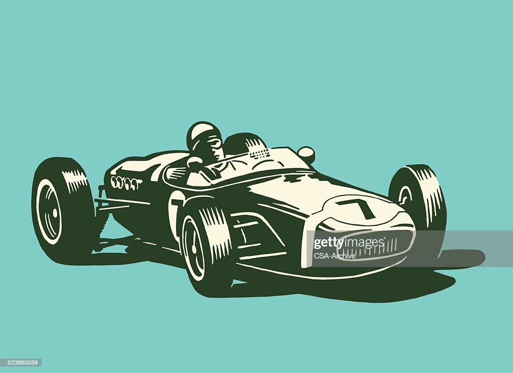 Race Car : stock illustration