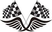 Race flag symbol