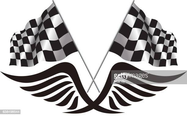 Free Clip Art Checkered Flag