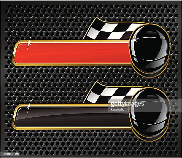 racer's nameplate - motorcycle helmet stock illustrations, clip art, cartoons, & icons