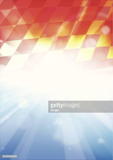 ilustraciones, imágenes clip art, dibujos animados e iconos de stock de fondo de carreras - circuito de carreras de coches