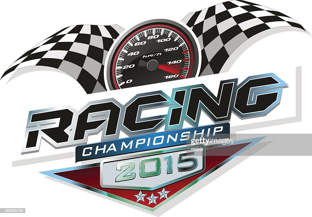 Racing championship 2015 logo event
