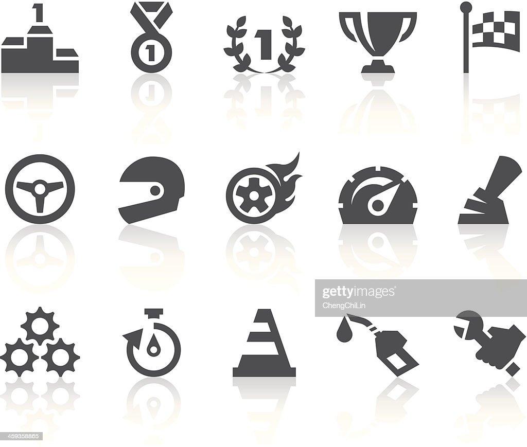 Racing Icons | Simple Black Series
