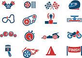 Racing icons