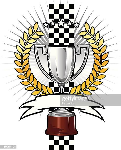 racing prize - rally car racing stock illustrations, clip art, cartoons, & icons