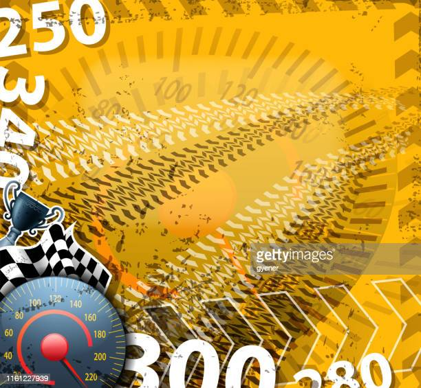racing sport time - go carting stock illustrations, clip art, cartoons, & icons