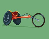 Racing wheelchair disabilities