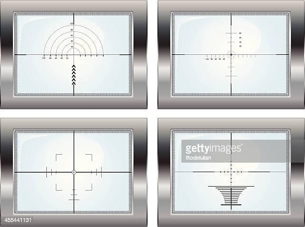radar set - m14 stock illustrations, clip art, cartoons, & icons