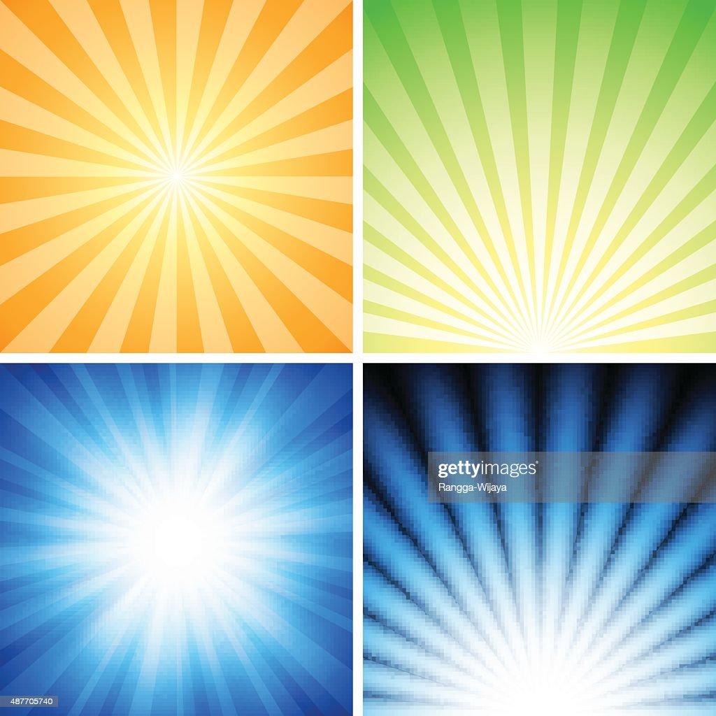 Radiance Background Set