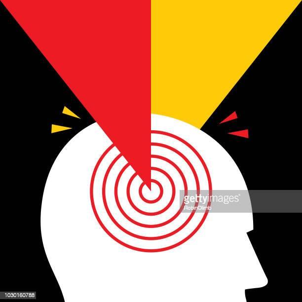 Radiating Headache Icon