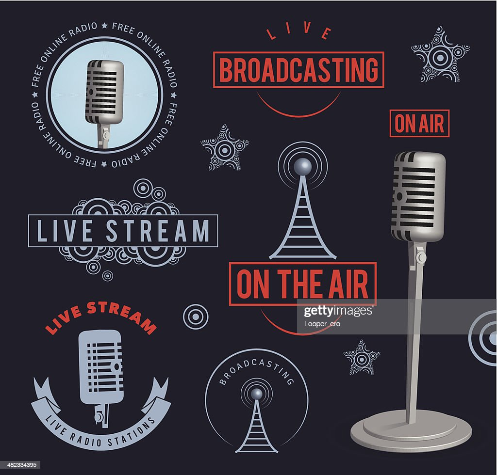 Radio broadcasting design elements