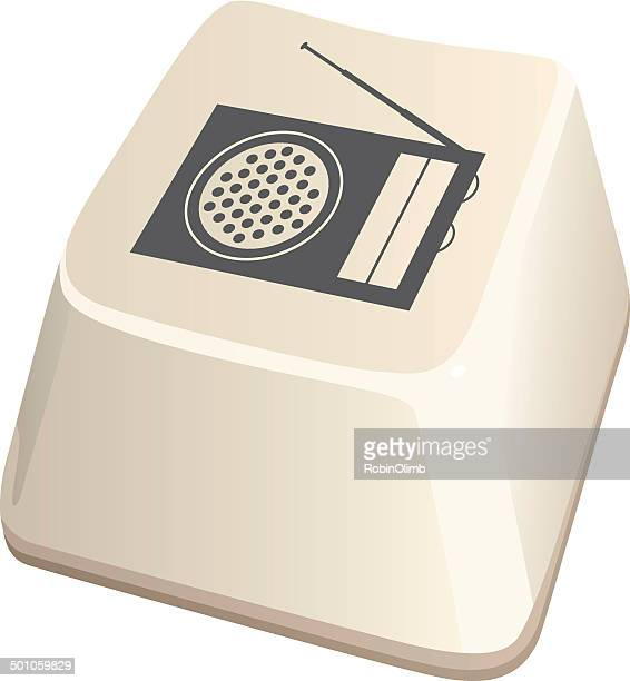 Radio Computer Key Icon