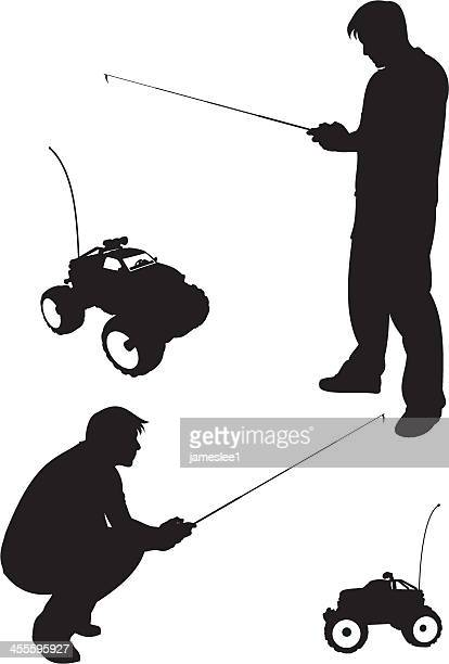 Radio Controlled Handset Stock Illustrations And Cartoons