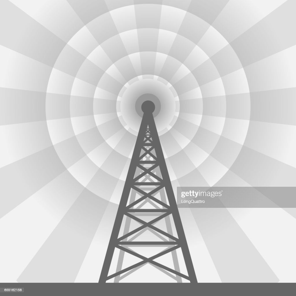 Radio tower background