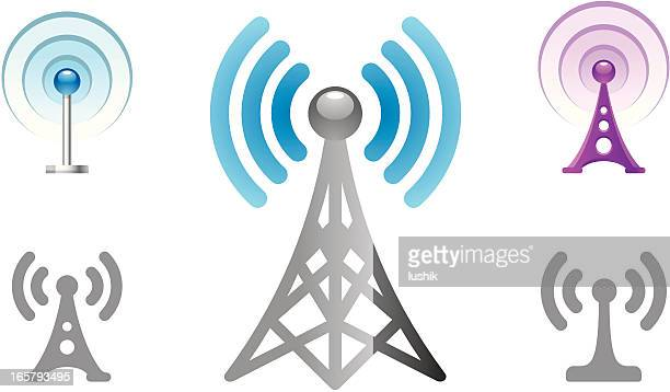 Radio Tower object icons
