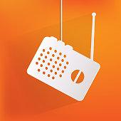 Radio web icon