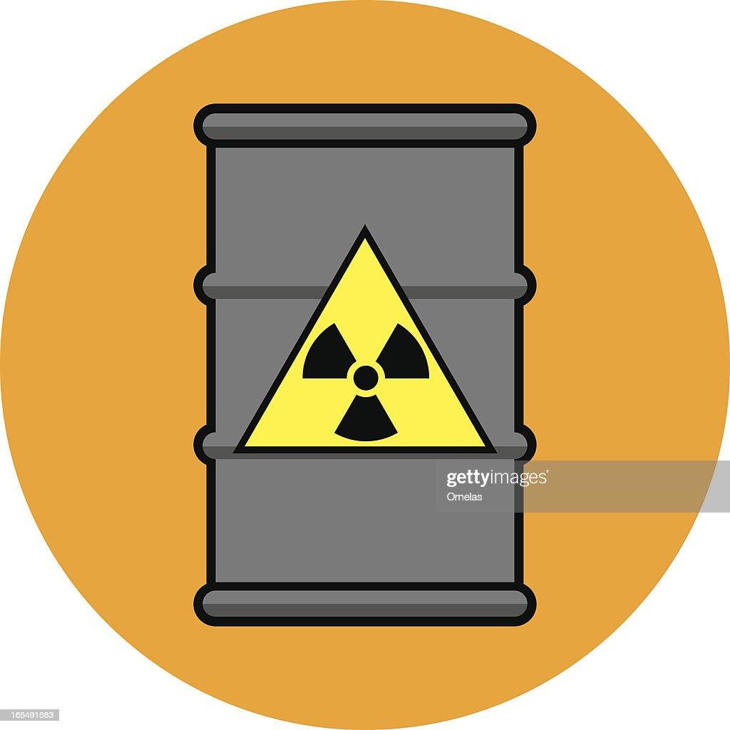 Radioactive Waste Drum Vector Art Getty Images