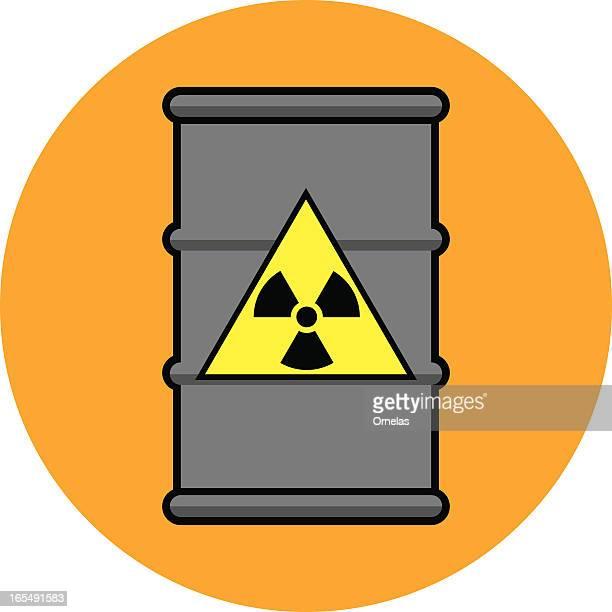 Radioactive Waste Drum