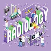 Radiology 01 Concept Isometric