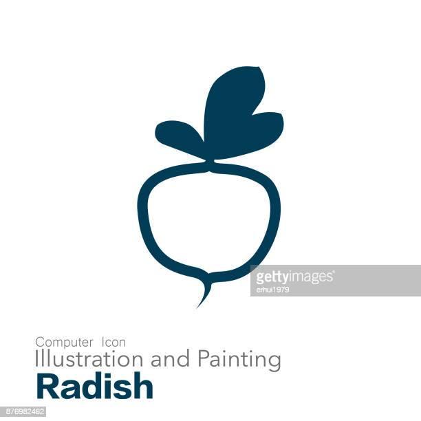 radish - freshness stock illustrations