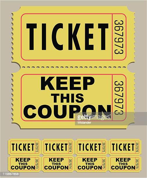 raffle ticket - raffle stock illustrations
