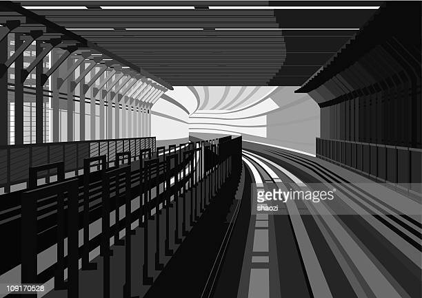 Rail Transit in city