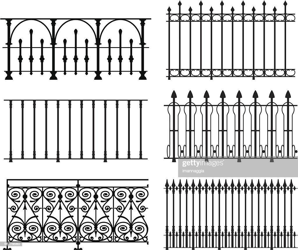 Railings and fences