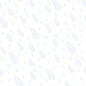 rain drop seamless pattern