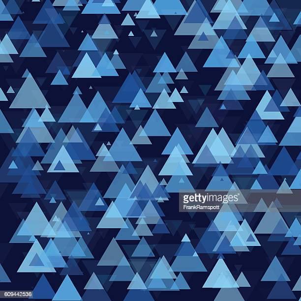Rain Triangle Geometric Graphic Pattern