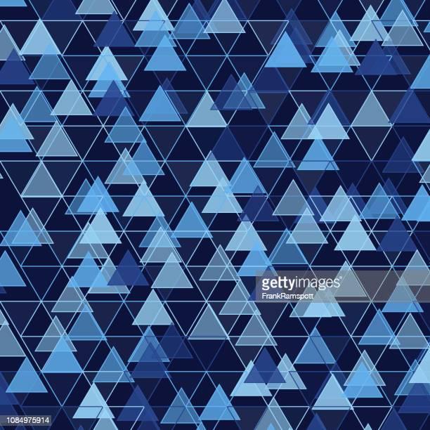 Regen-Dreieck-Vektor-Design-Pattern