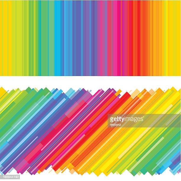 Rainbow background design