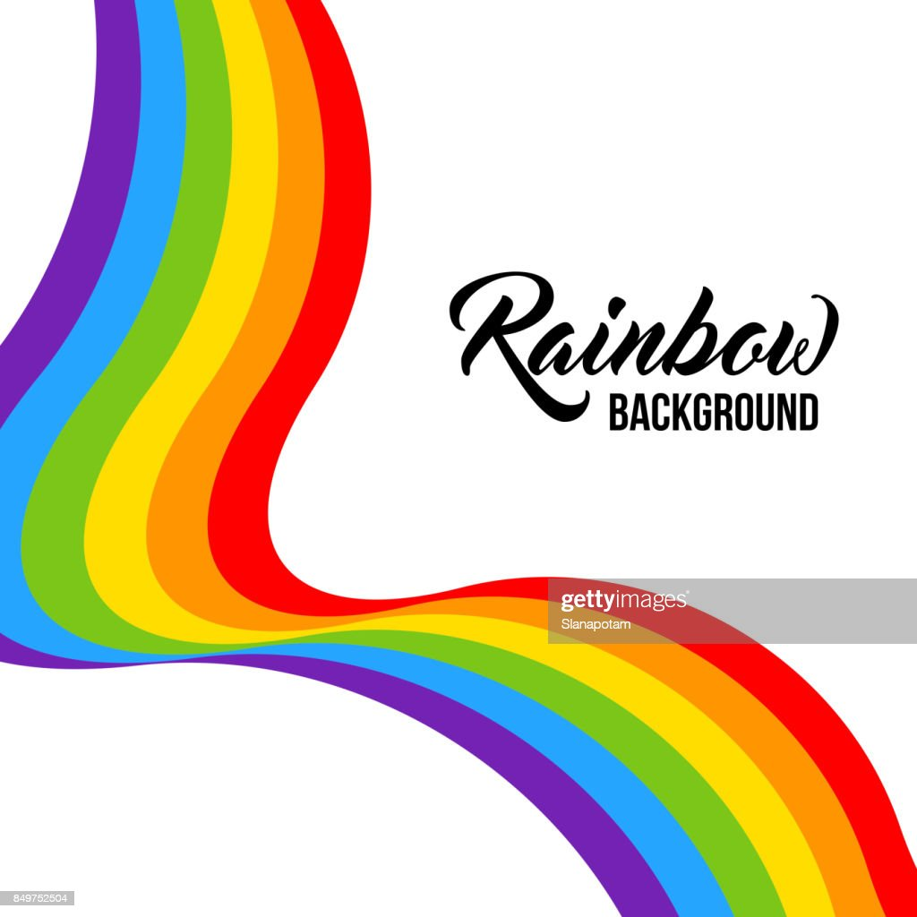 Rainbow background LGBT colors. Abstract geometric pattern.