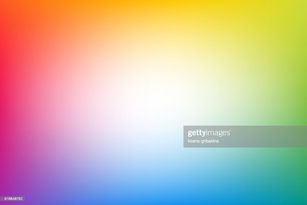 Rainbow blurred abstract vector background