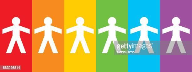 Rainbow Figures Icon