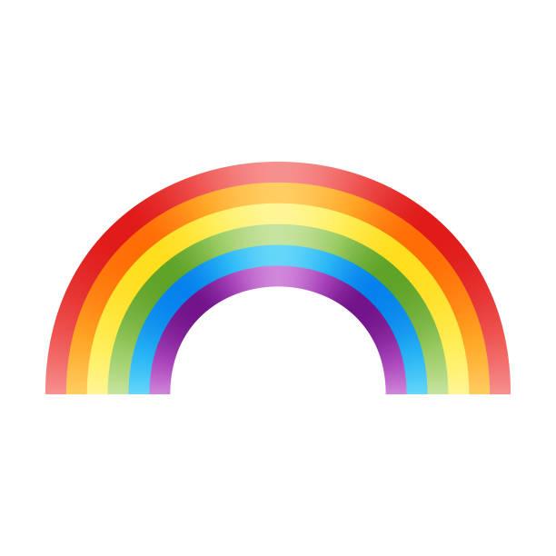 rainbow flag design - rainbow stock illustrations