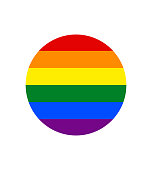 Rainbow flag, The most widely known worldwide is the pride flag representing LGBT pride. (lesbian, gay, bisexual, and transgender)
