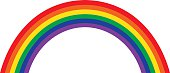 Rainbow Illustration, Classic Design