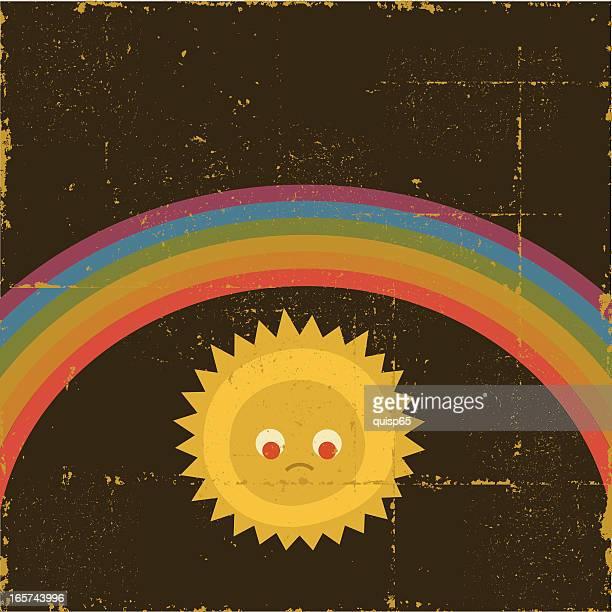 rainbow in the dark - gay stock illustrations, clip art, cartoons, & icons