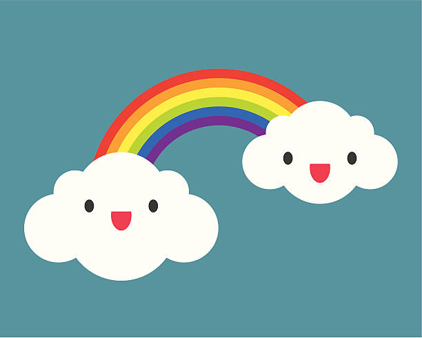 rainbow - rainbow stock illustrations