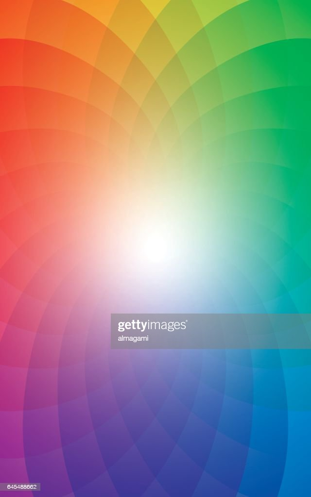 Rainbow Vertical Background.
